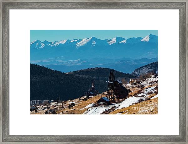 Victor Gold Mine Framed Print