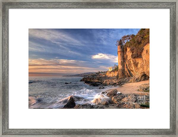 Victoria Beach Framed Print