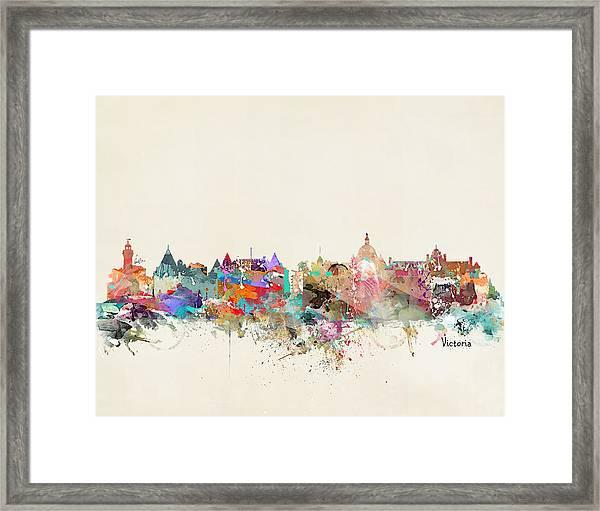 Victoria British Columbia  Framed Print