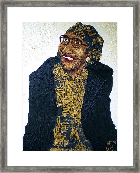 Victoria Chambers Framed Print