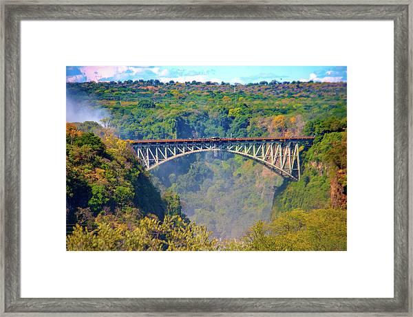 Victoria Falls Bridge Framed Print