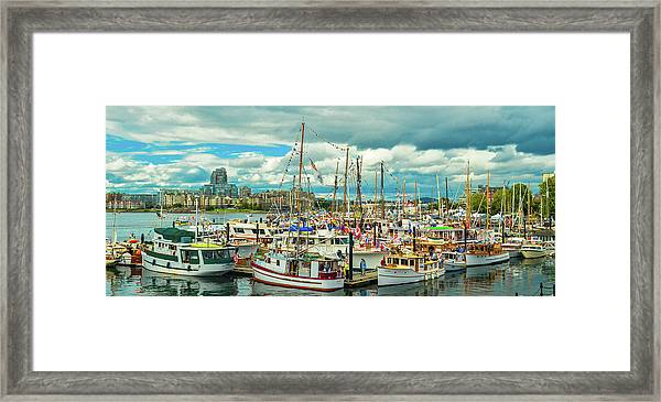 Victoria Harbor 1 Framed Print