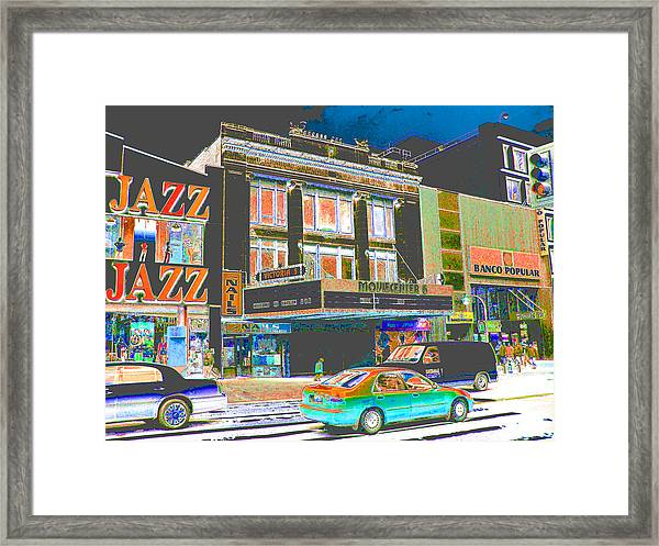 Victoria Theater 125th St Nyc Framed Print