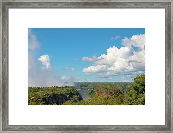 Victorial Falls Bridge Framed Print