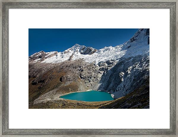 View From Punta Union Framed Print