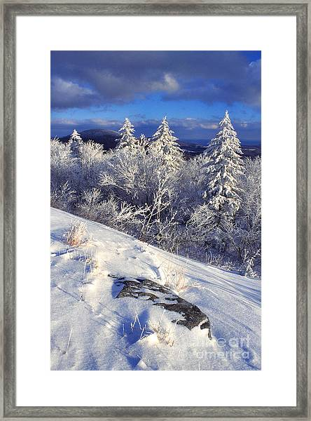 View Along Highland Scenic Highway Framed Print