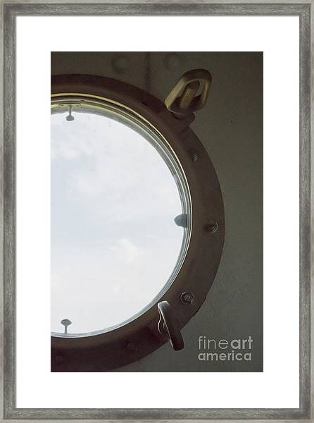 View At Sea I Framed Print