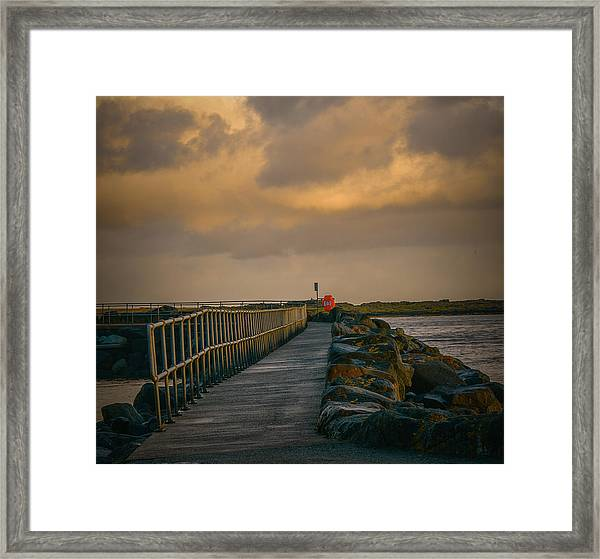 View At Staffin 1 #g9 Framed Print