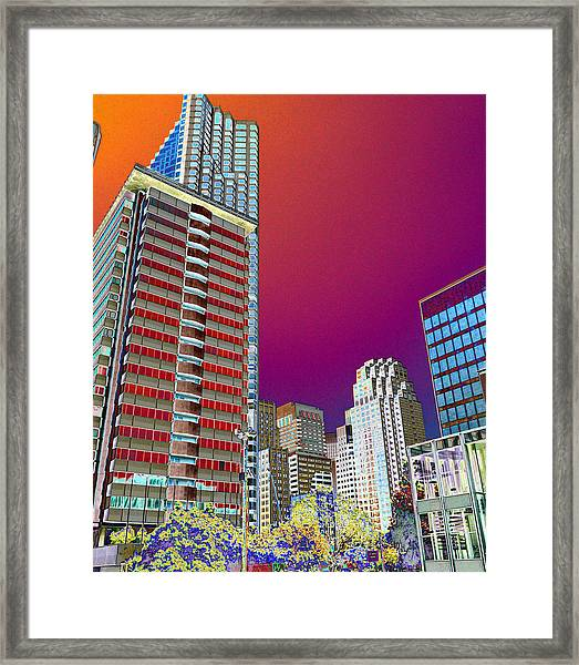 View At Union Square Framed Print