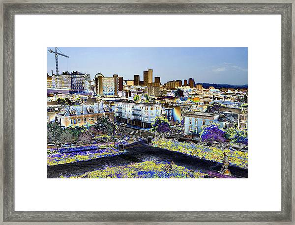 View From Alta Park Framed Print