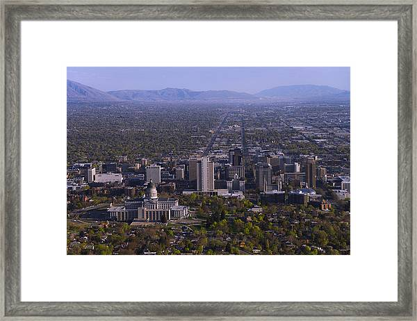 View From Ensign Framed Print