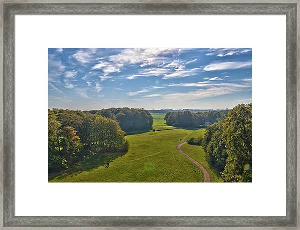 View From Lilac Mountain Framed Print