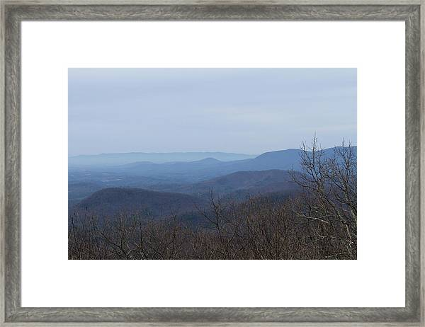 View From Springer Mountain Framed Print