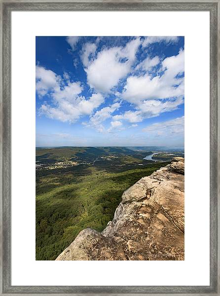 View From Sunset Rock 4 Framed Print