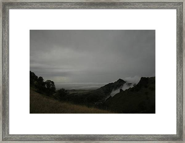 View From Sutter Buttes Framed Print