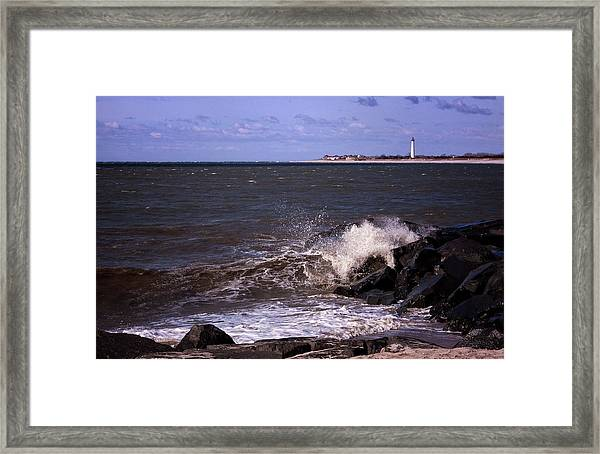 View From The Cove Framed Print