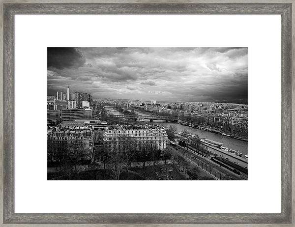 View From The Eiffel Tower Framed Print