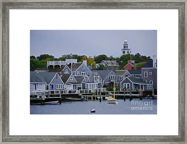 View From The Water Framed Print