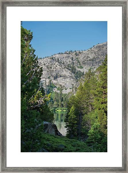 View Of Eagle Lake Framed Print