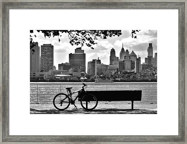 View Of Philadelphia  Framed Print
