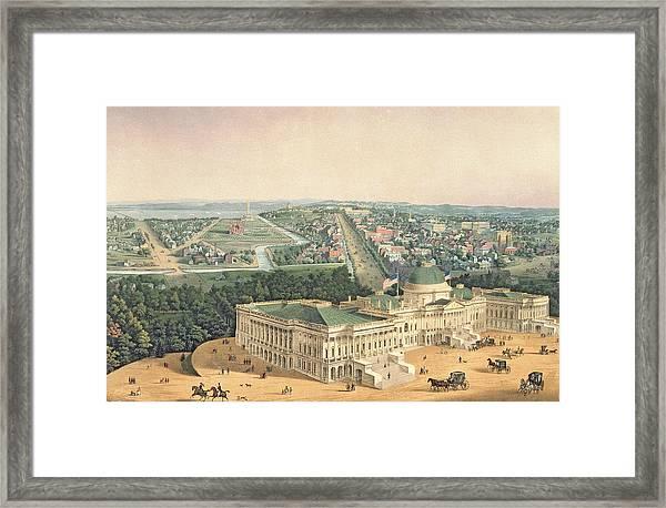 View Of Washington Dc Framed Print