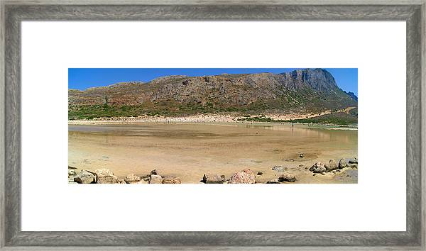 View To Gramvousa Framed Print