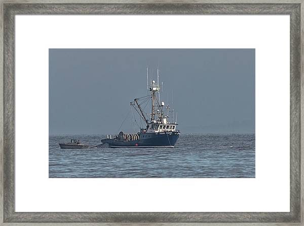 Framed Print featuring the photograph Viking Fisher 1 by Randy Hall