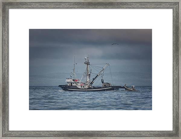Framed Print featuring the photograph Viking Tide by Randy Hall