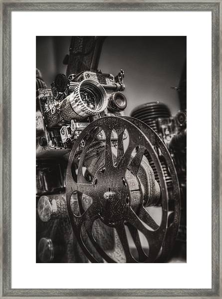 Vintage 16mm Framed Print