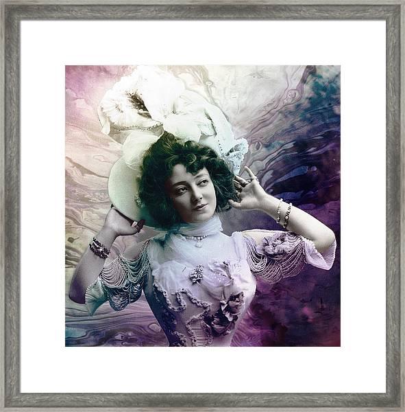 Vintage 1900 Fashion Framed Print