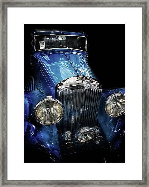 Vintage Bentley Framed Print