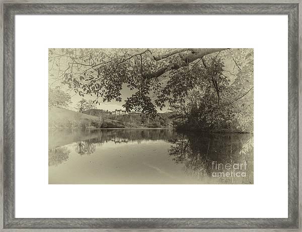 Vintage Biltmore Framed Print
