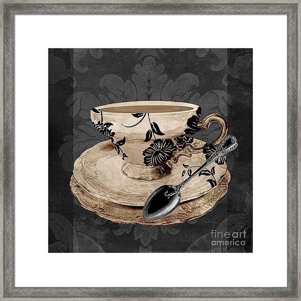 Vintage Cafe I Framed Print