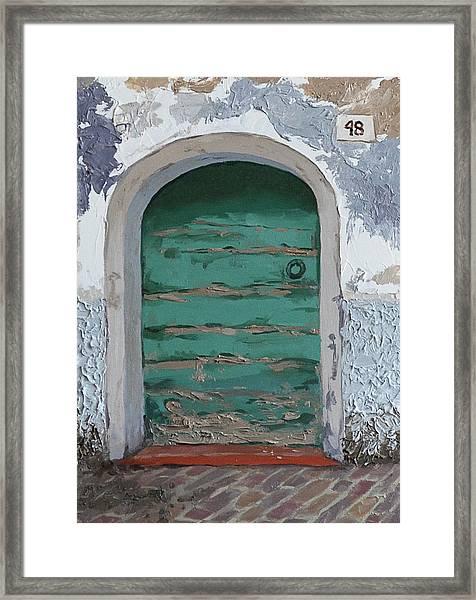 Vintage Series #2 Door Framed Print