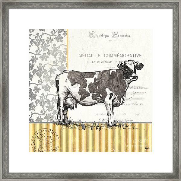 Vintage Farm 4 Framed Print
