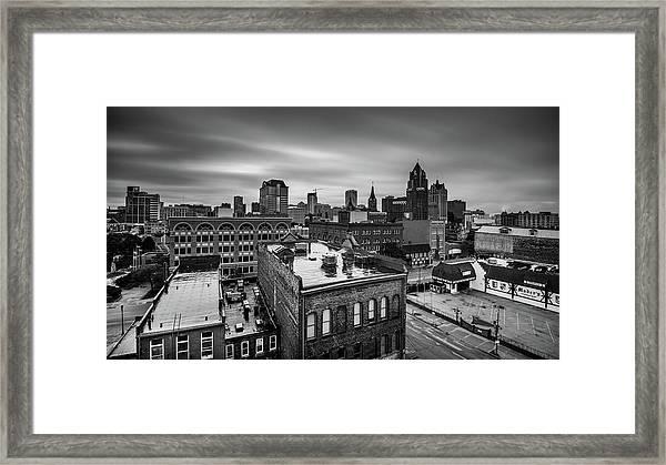 Vintage Milwaukee Framed Print