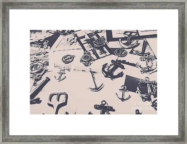 Vintage Sailing Art Framed Print