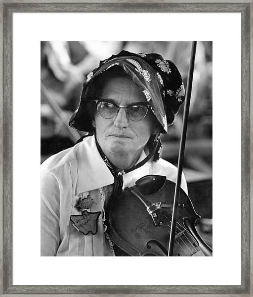 Violet Hensley Framed Print