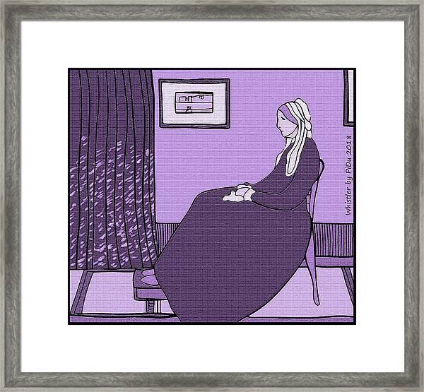 Violet Whistler's Mother Framed Print