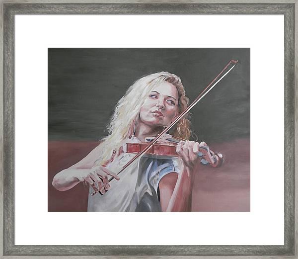Violin Solo Framed Print