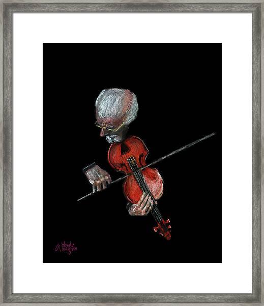 Violin Virtuoso Framed Print