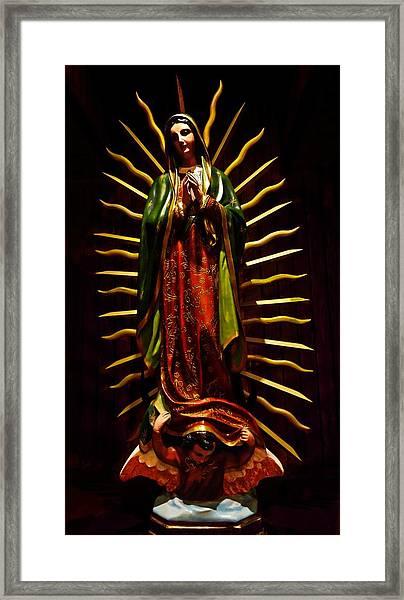 Virgin Of Guadalupe Framed Print