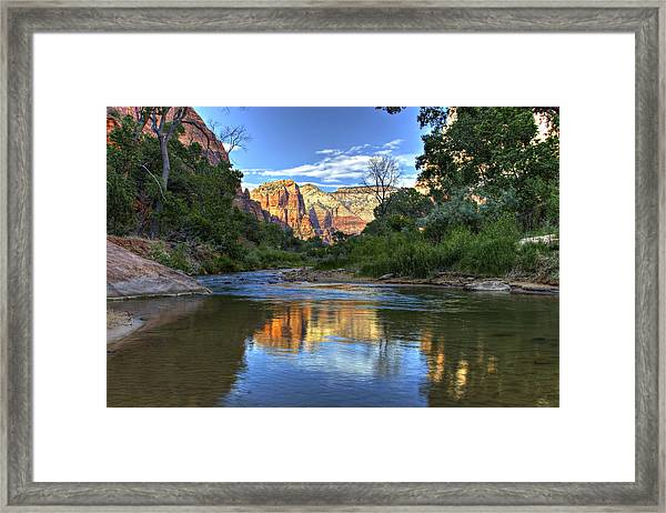 Virgin River Framed Print