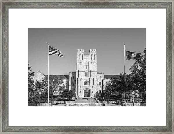 Virginia Tech Burress Hall Framed Print