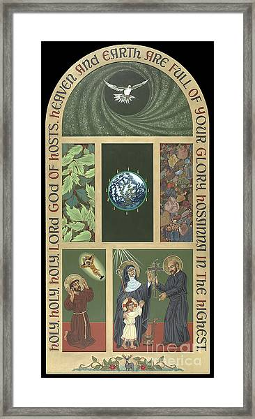 Viriditas - Finding God In All Things Framed Print