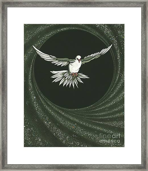 Viriditas-holy Spirit Detail Framed Print