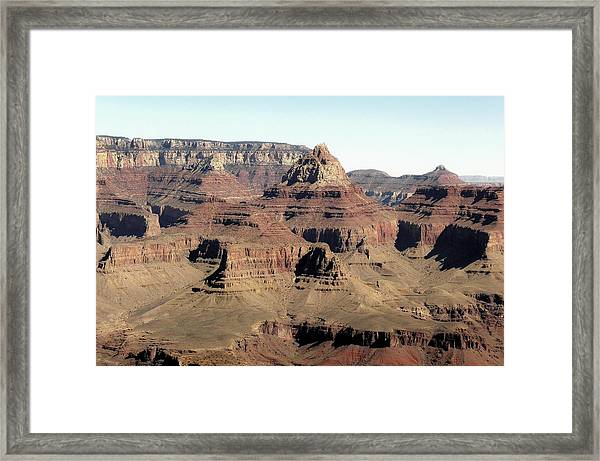 Vishnu Temple Grand Canyon National Park Framed Print