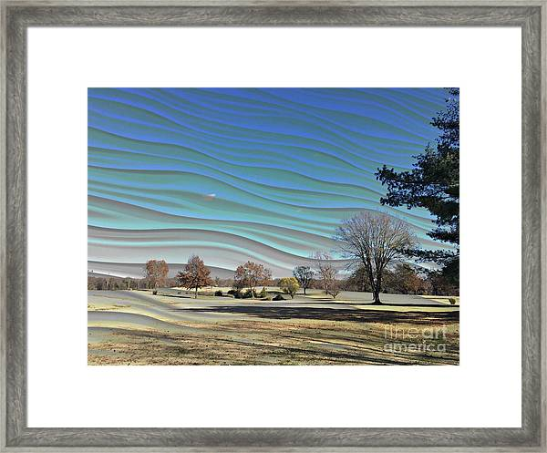 Visible Chill Framed Print