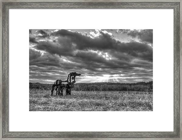 Visible Lights The Iron Horse Sunrise Art Framed Print