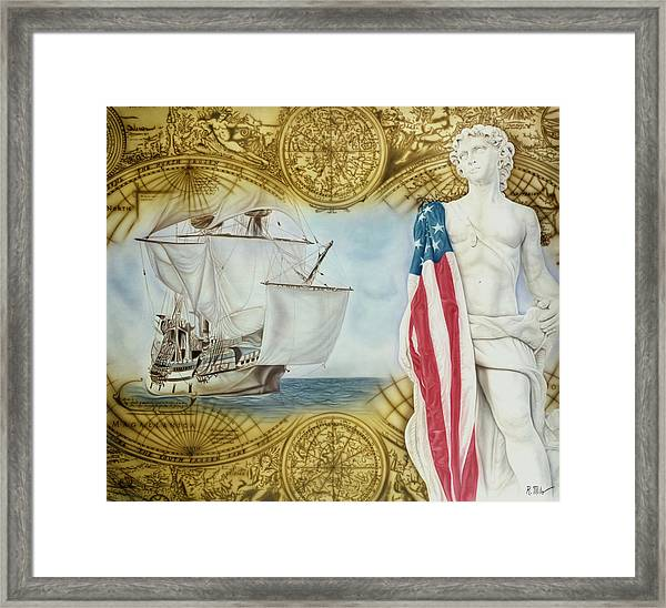 Visions Of Discovery Framed Print